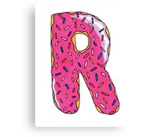 The Donut Canvas Print