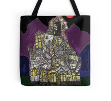 Haunted House Hill Tote Bag