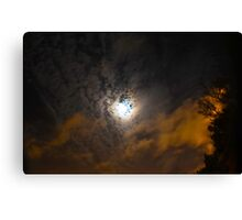 A Sky Painting Canvas Print