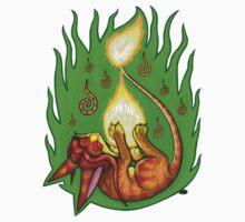 Pyrofeline - Playing with Fire Kids Tee