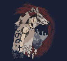 Keepers of the forest mononoke One Piece - Short Sleeve