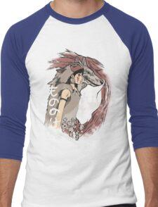 Keepers of the forest mononoke Men's Baseball ¾ T-Shirt