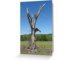 Gandalf Tree Greeting Card