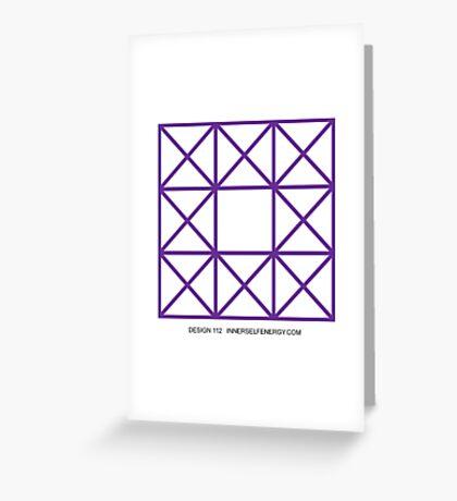 Design 112 Greeting Card