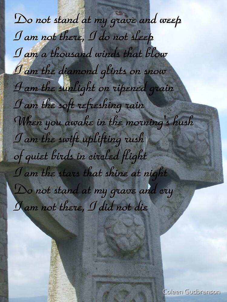 Irish Sympathy Card by Coleen Gudbranson