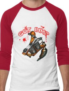 Got Ink? Men's Baseball ¾ T-Shirt