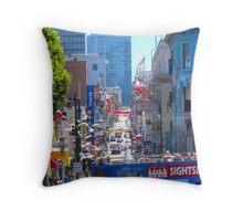Site Seeing Throw Pillow