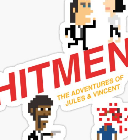 Hitmen: The Adventures of Jules and Vincent Sticker