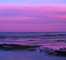 Turrimetta Beach, Summer Sunset by MVPhotos