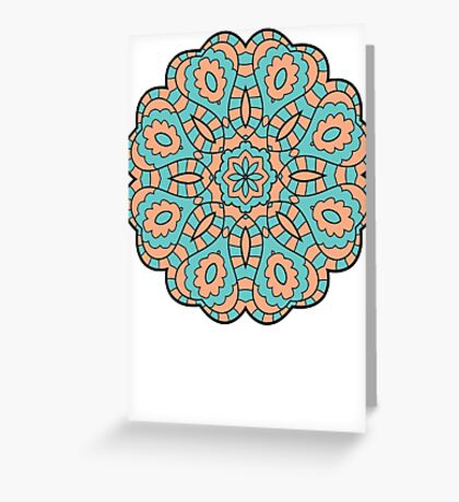 Mandala #4 Greeting Card