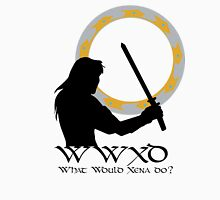 What Would Xena Do? Unisex T-Shirt