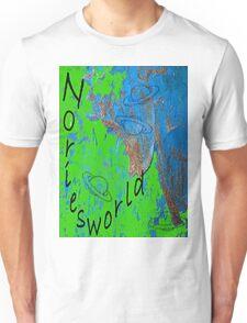 Noriesworld Blue Green w/ Planets Unisex T-Shirt
