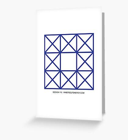 Design 110 Greeting Card