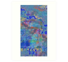 Abstract Composition #1 – July 3, 2012 Art Print