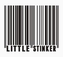 Little Stinker Barcode One Piece - Short Sleeve