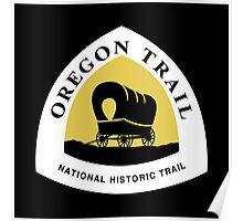 Oregon Trail Sign, USA Poster