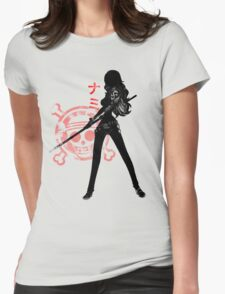 Nami Swan! Womens Fitted T-Shirt