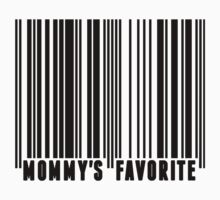 Mommy's Favorite Barcode Baby Tee