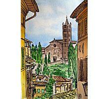 Siena Italy Photographic Print