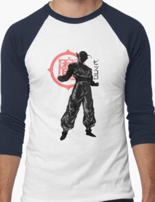 crimson piccolo Men's Baseball ¾ T-Shirt