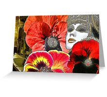 Pansies for Thoughts Greeting Card