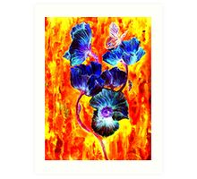 Life Cycle Of A Butterfly II Art Print