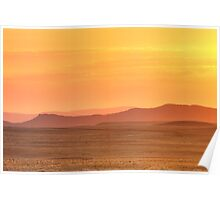 Leveling Sunset Poster
