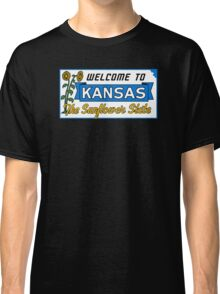 Welcome to Kansas Sign Vintage 50s Classic T-Shirt