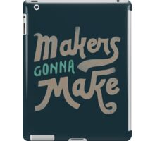 Makers iPad Case/Skin