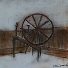 A Walking Wheel from the first days in the America's   by David M Scott