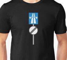 Autobahn No Speed Limit Unisex T-Shirt