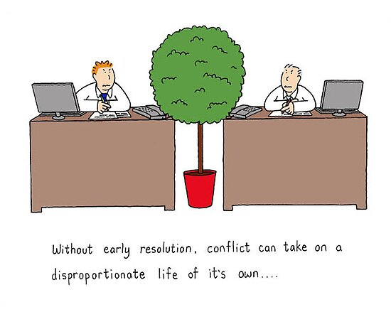 Conflict resolution. by KateTaylor