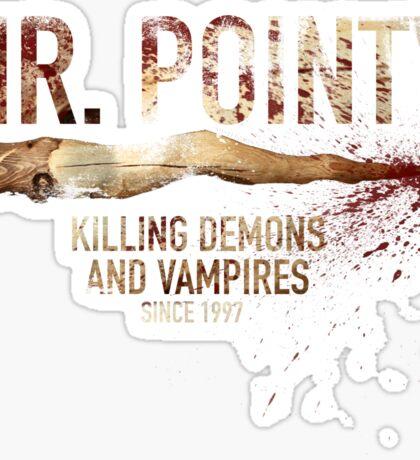 Mr. Pointy Sticker