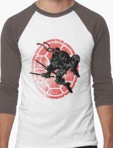 Hidden Below Men's Baseball ¾ T-Shirt