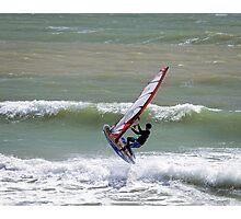 Wave Jumper Photographic Print