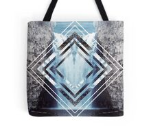 Waterfall Polyscape Tote Bag
