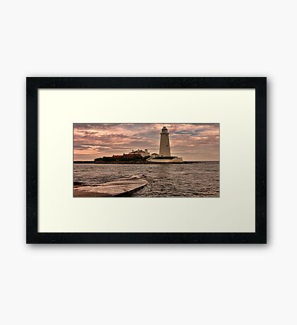 St Mary's Island Framed Print
