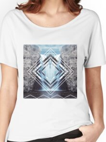 Waterfall Polyscape Women's Relaxed Fit T-Shirt