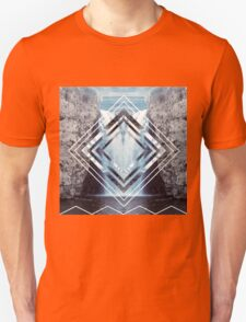 Waterfall Polyscape Unisex T-Shirt