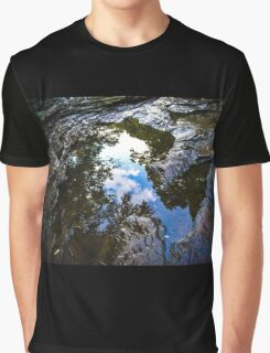Puddle Reflection Graphic T-Shirt