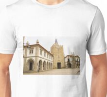 The clock tower in Caminha Unisex T-Shirt
