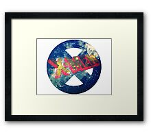 the galactic xmen  Framed Print