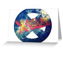 the galactic xmen  Greeting Card