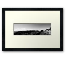 Black Head Beach Framed Print