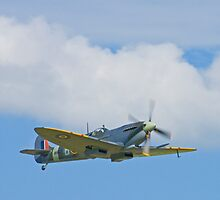 Flypast - Spitfire Mk IX MH434 by Colin  Williams Photography