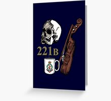 Welcome to 221B Greeting Card