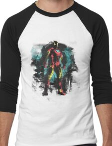 Dressed in Iron Men's Baseball ¾ T-Shirt