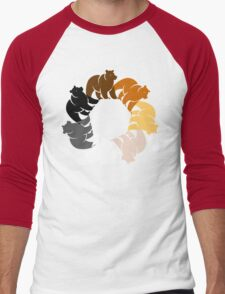 BEAR CIRCLE Men's Baseball ¾ T-Shirt