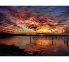 Sunsets Past Photographic Print