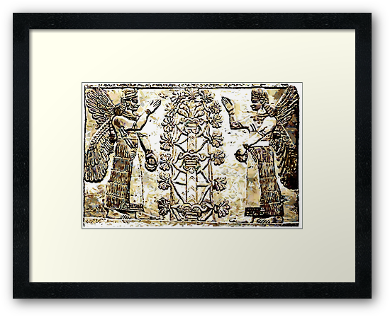 A Babylonian Tree of Life 6th century BCE No13 by Dennis Melling